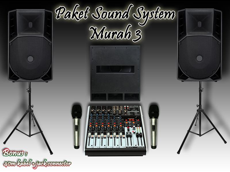 Paket Sound System Murah 3