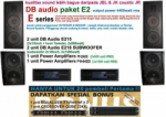 Paket Sound System DB Audio E2  medium2
