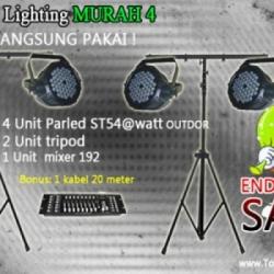 Paket lighting murah 4  large