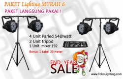 Paket lighting murah 6  large