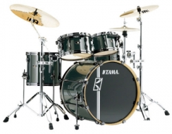 Tama SK52HXZBNS Superstar HyperDrive Brushed Metallic Black  large