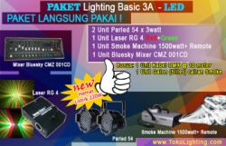 large paket lighting basic 3A LED