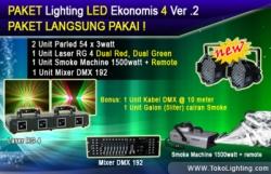 large Paket Lighting Led Ekonomi 4 ver