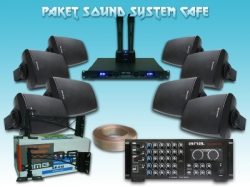 large Paket Sound System Cafe