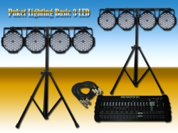 large Paket Lighting Basic 3 LED