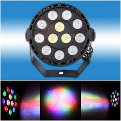 large Par led 12x1 watt 1