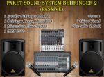 paket sound system behringer 2  medium2